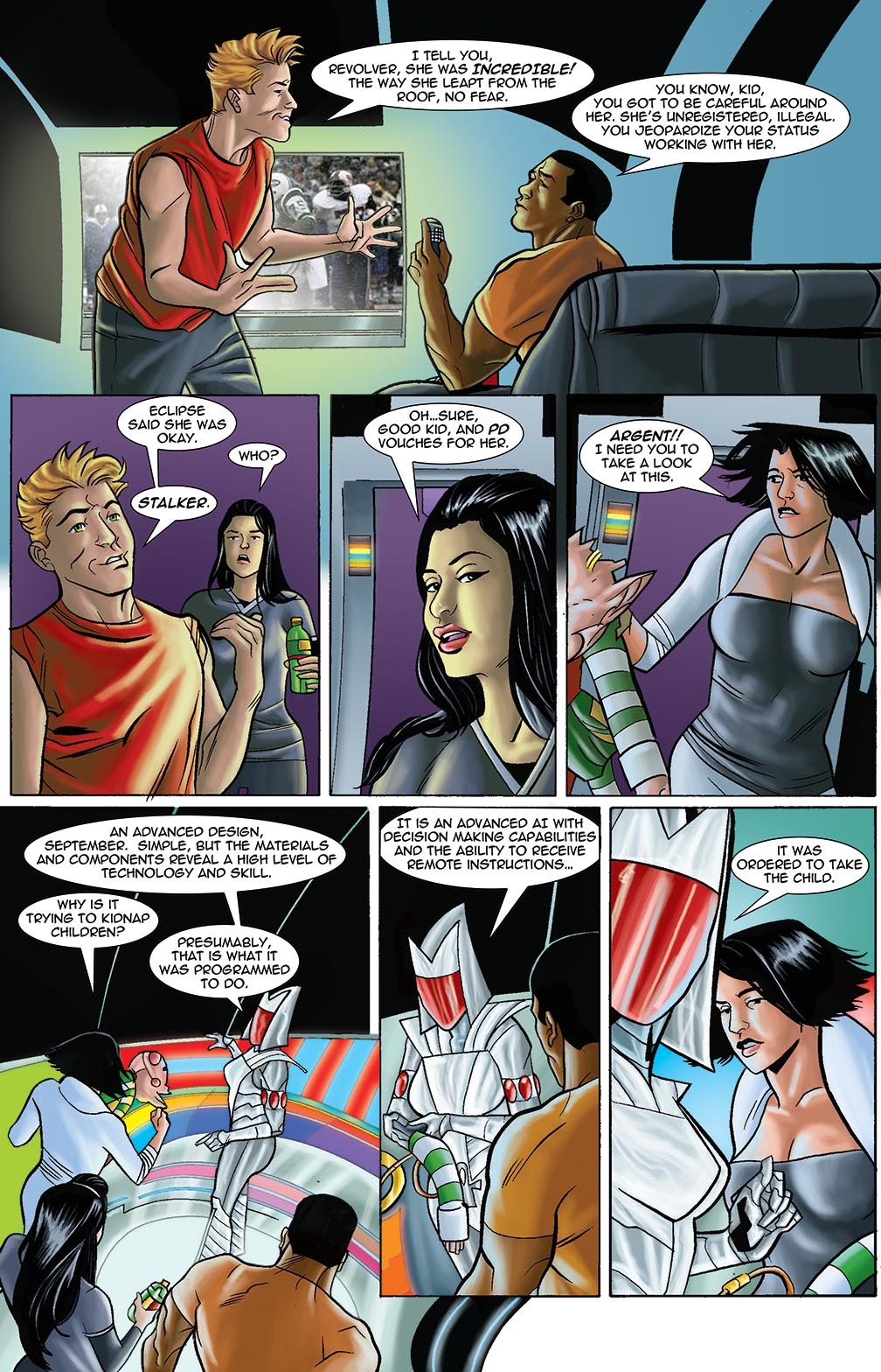 Gateway Legends #1 (2014) Page 6