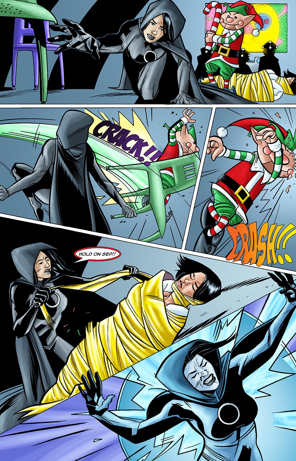 Gateway Legends #1 (2014) Page 11