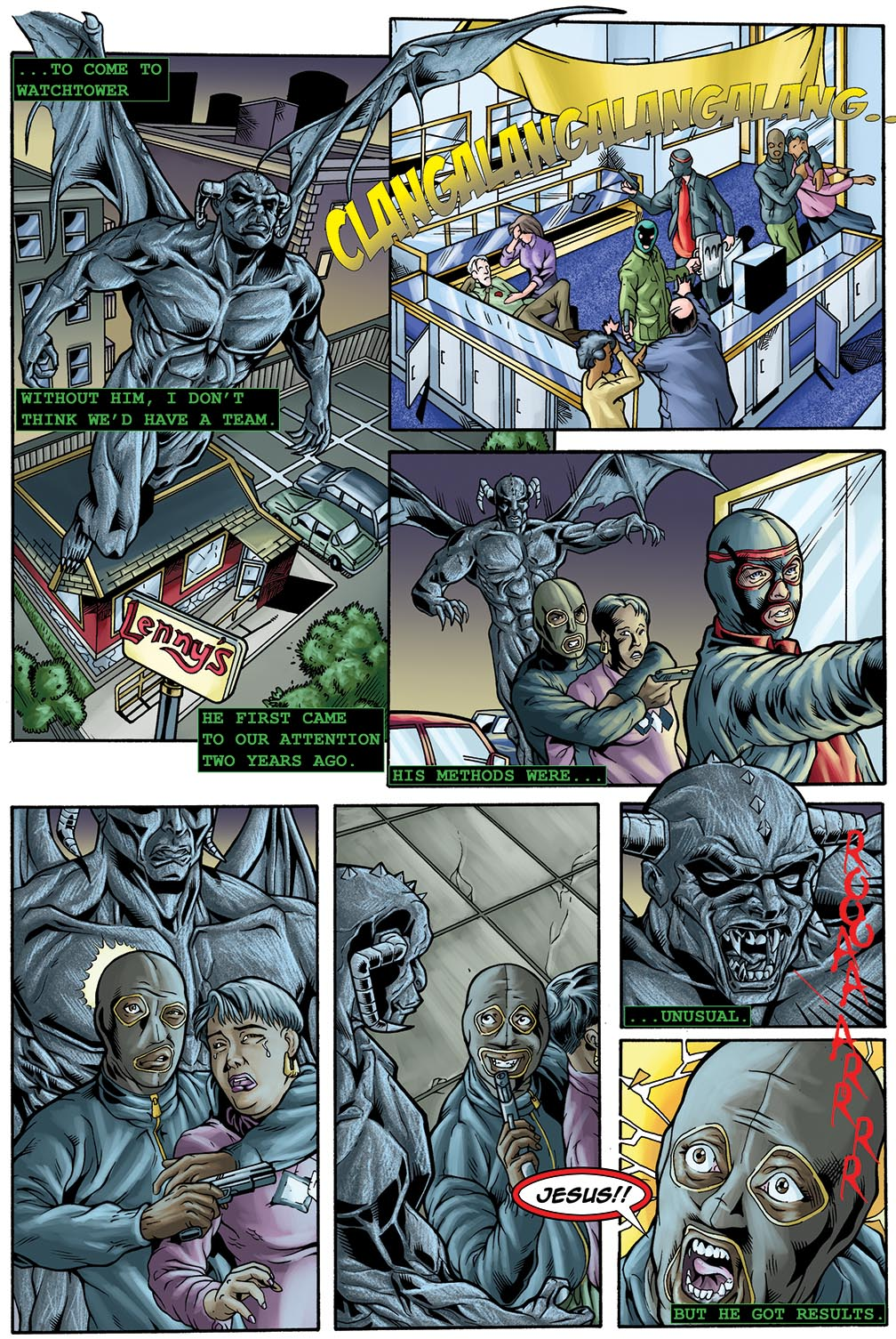 Gateway Legends #1 (2014) Page 17