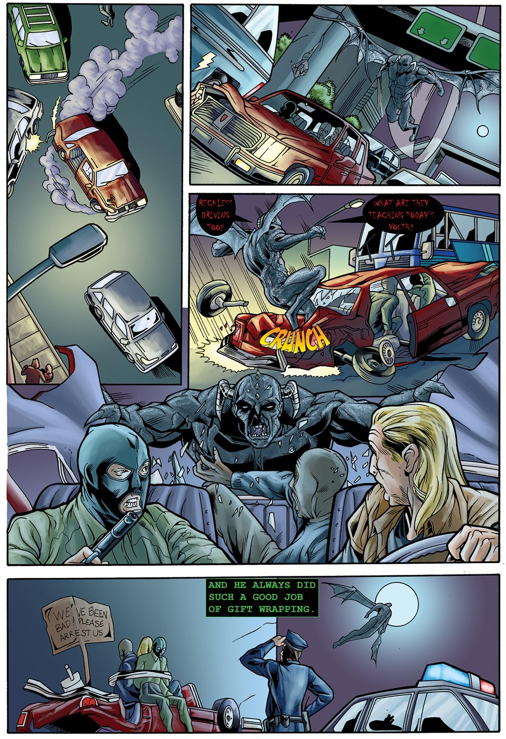 Gateway Legends #1 (2014) Page 20
