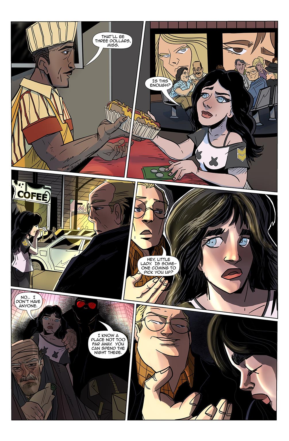 Stalker #7 Page 5 by Bradley Potts, Fabio Silva, and Bea Navarro