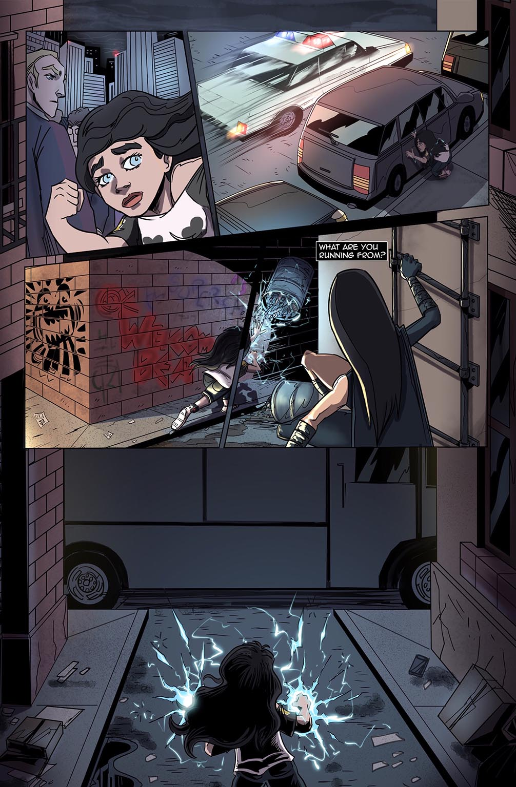 Stalker #7 Page 11 by Bradley Potts and Fabio Silva