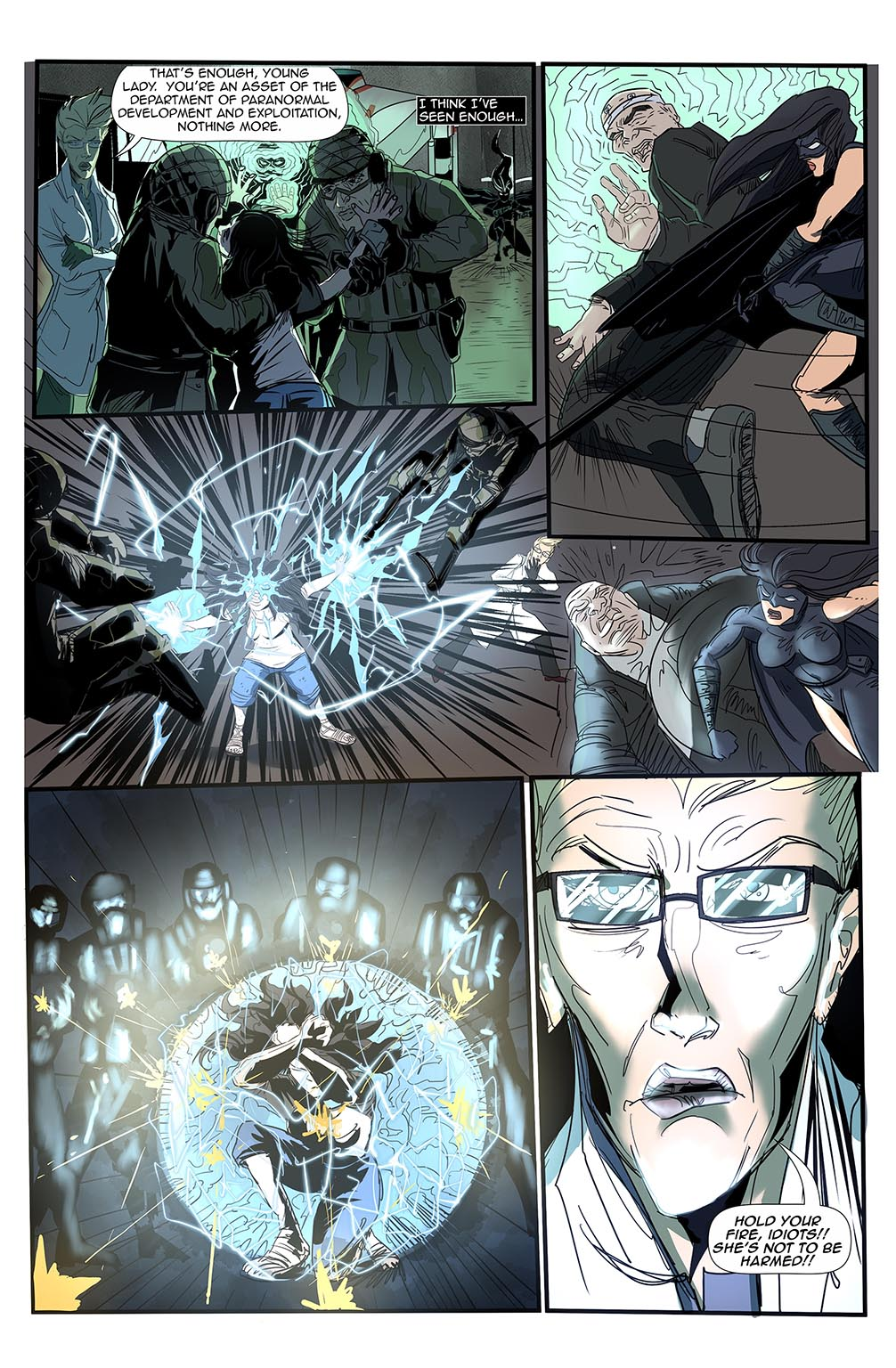 Stalker #7 Page 13 by Bradley Potts and Fabio Silva