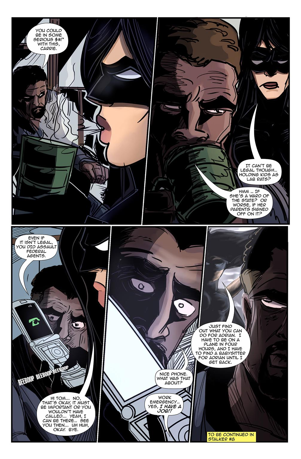 Stalker #7, Page 20 by Bradley Potts and Fabio Silva