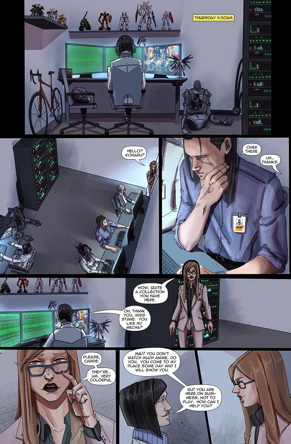Stalker #8 Page 10 by Bea Navarro