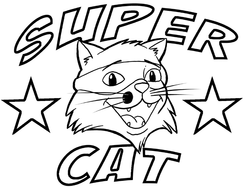 Super Cat Logo